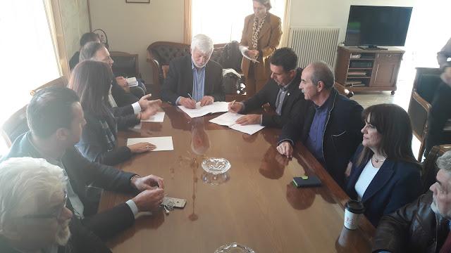 Πέτρος Τατούλης: Επιτυχία της πολιτικής πρωτοβουλίας της Περιφέρειας Πελοποννήσου η σύσταση των Κέντρων Κοινότητας