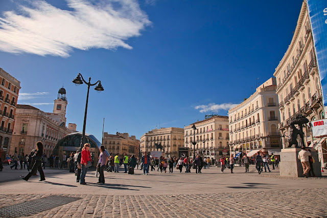 Puerta del Sol, Madri