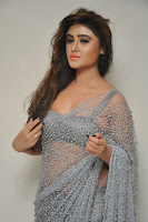 Actress Sony Charistha Latest Pos in Silver Saree at Black Money Movie Audio Launch  0045.jpg