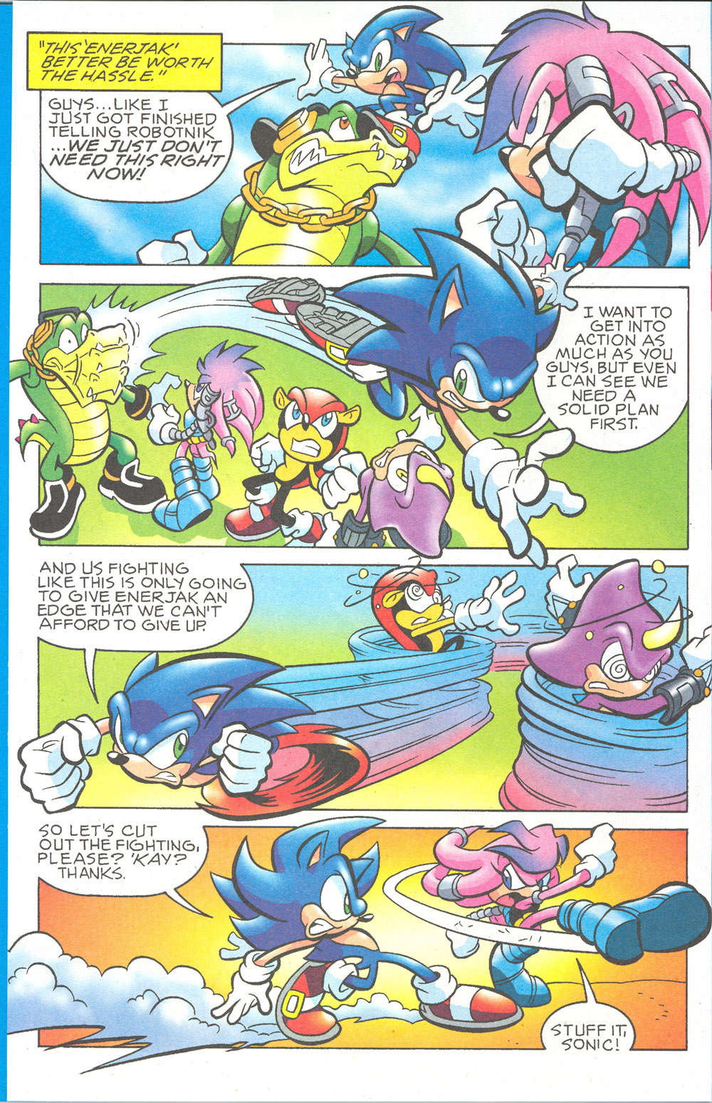 Read online Sonic The Hedgehog comic -  Issue #180 - 13