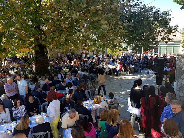 Άρτα: Υποδειγματική Οργάνωση Στη Γιορτή Κάστανου Και Τσίπουρου Της Τοπ. Κοινότητας Καστανιάς!