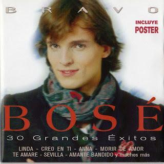 MIGUEL BOSE - 30 Grandes éxitos (2 CDs) Front