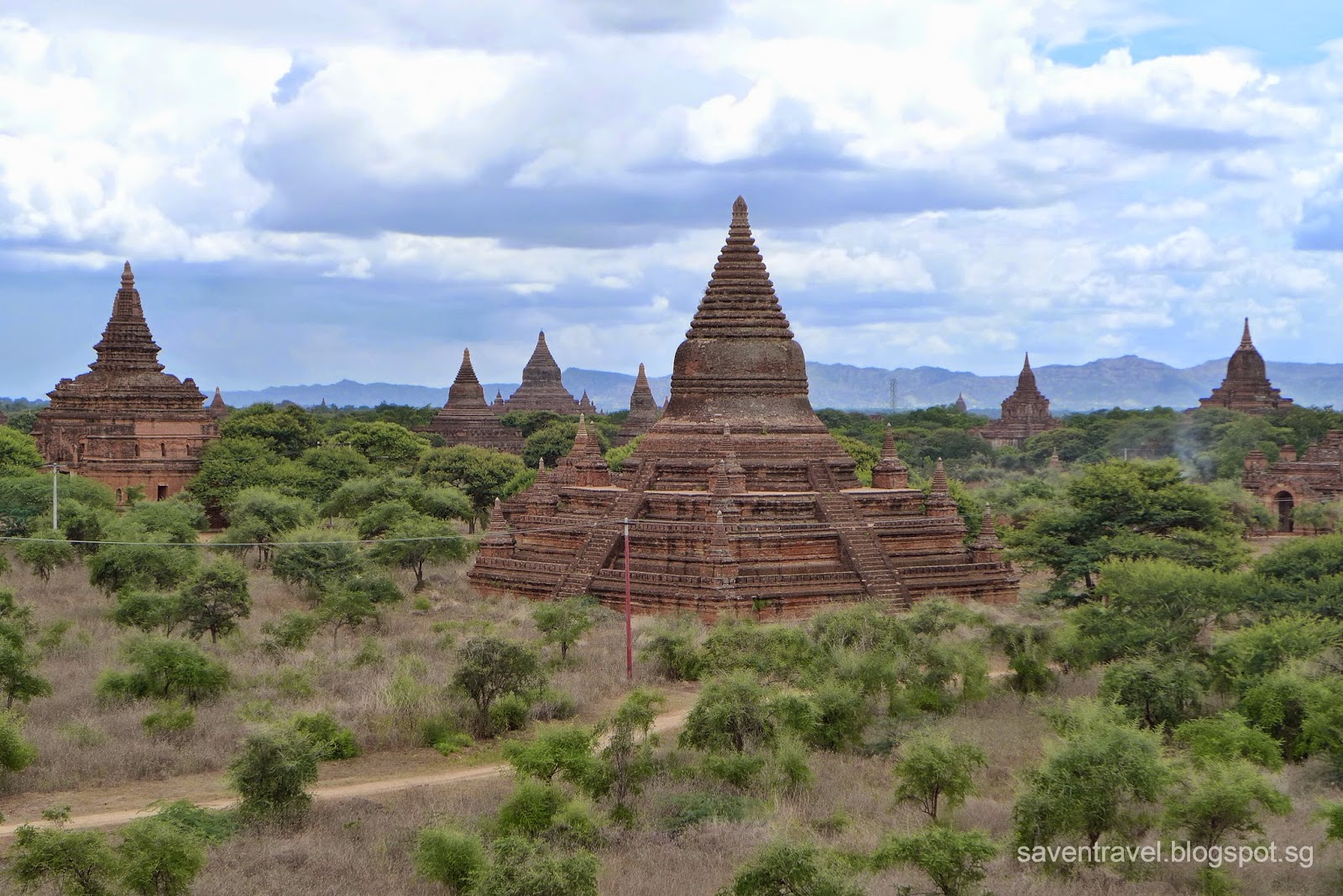 Save & Travel: Temple Run in the Ancient City of Bagan