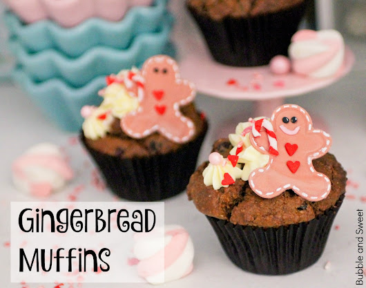 Yummy gingerbread cranberry muffins. Mix, mix just as fast as you can.