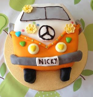 campervan cake