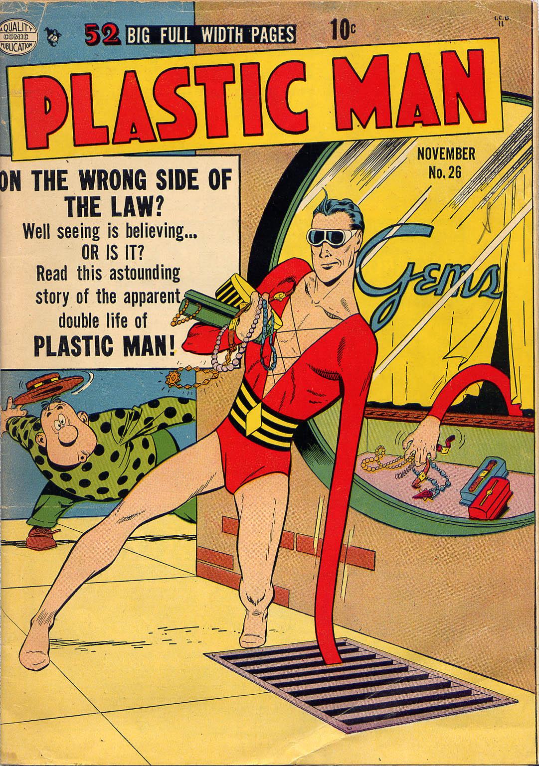 Plastic Man (1943) 26 Page 1