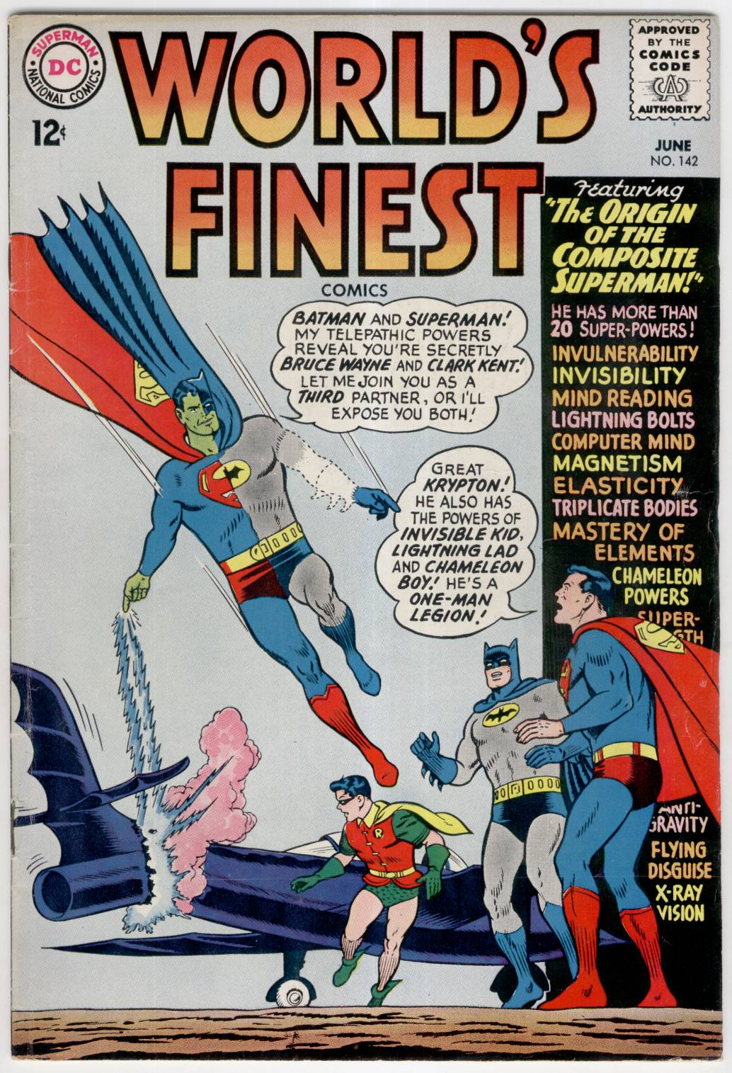 Read online World's Finest Comics comic -  Issue #142 - 1