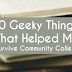 10 Geeky Things That Helped Me Survive Community College