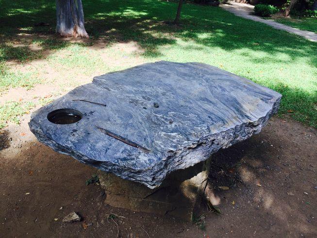 Wish Stone at Washington SyCip Park