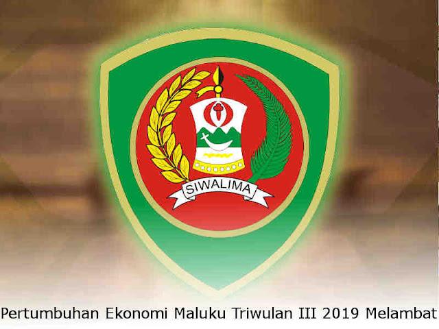 Pertumbuhan Ekonomi Maluku Triwulan III 2019 Melambat