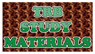 KALVISOLAI TRB STUDY MATERIALS - கல்விச்சோலை