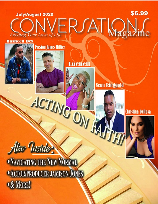 Click the cover below to order Conversations Magazine's July/August Issue