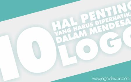 10 Hal Penting Dalam Desain Logo