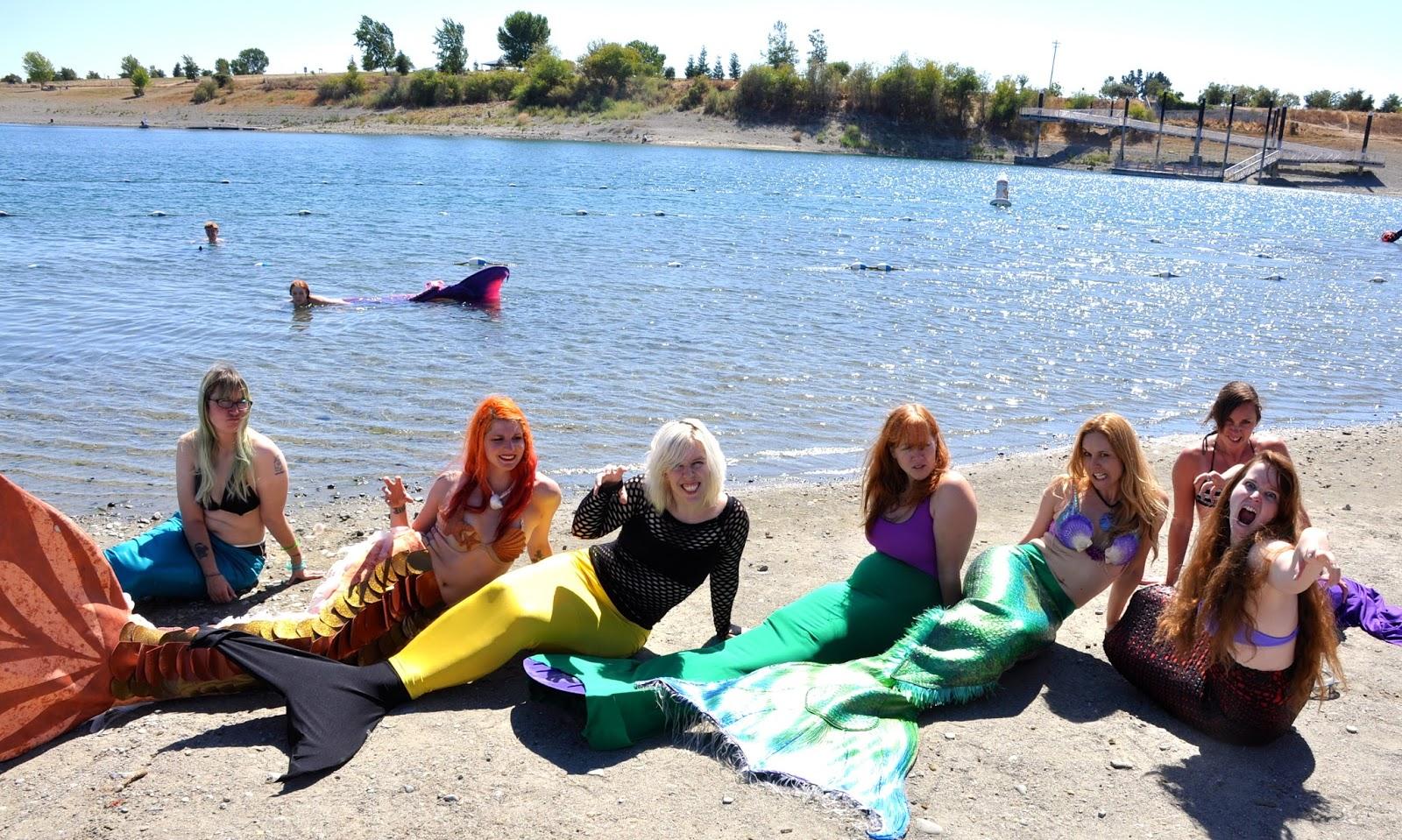 Fire Pixie Happenings: Quarry Lakes Mermaid Swim in Fremont, CA
