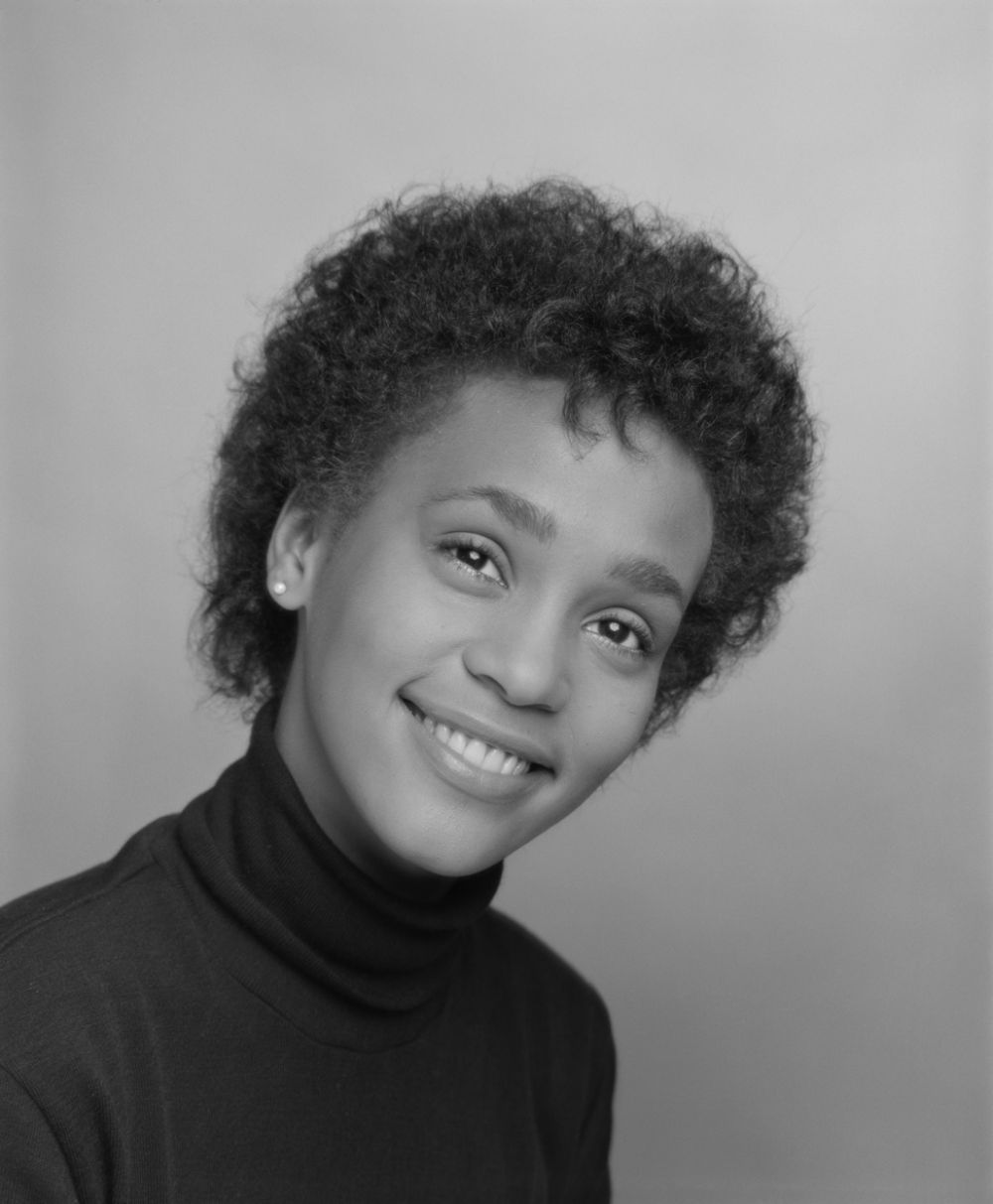 Rarely Seen Modeling Photos Of A Young Whitney Houston In