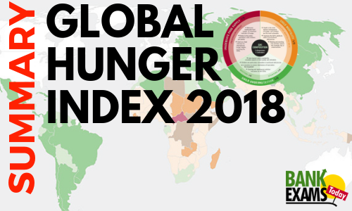 Global Hunger Index 2018-Summary