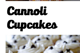 Cannoli Cupcakes with Vanilla Bean Frosting Recipe