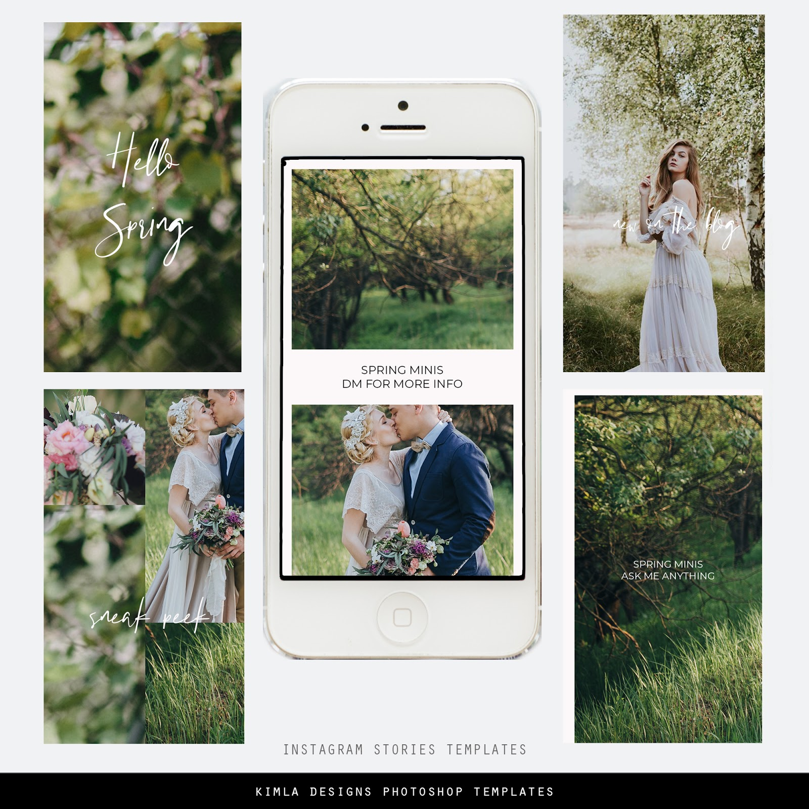 Free Instagram Story Marketing Templates for Photographers