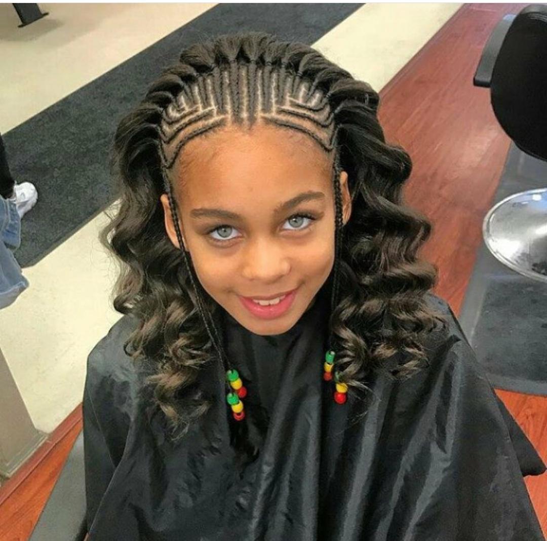 25 Gorgeous Braided Hair Ideas For Black Women Photos