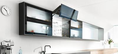 Tay nâng đôi cho tủ bếp NewEra Đức