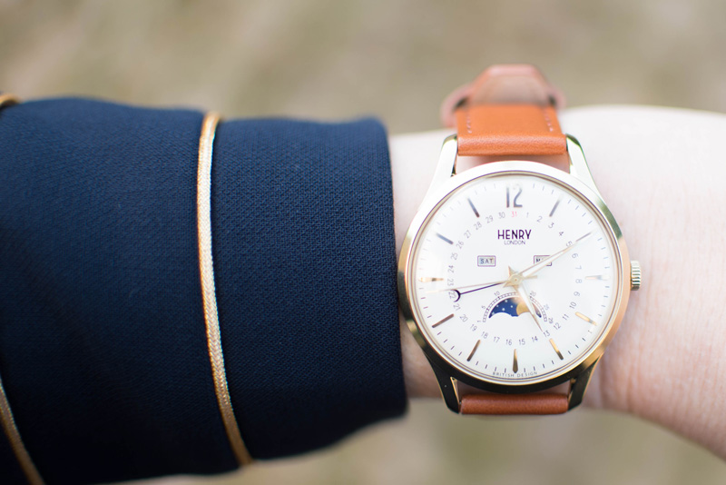 Henry London Westminster Moon Phase Watch