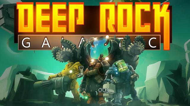 Deep Rock Galactic nos deja explorar el espacio en el E3