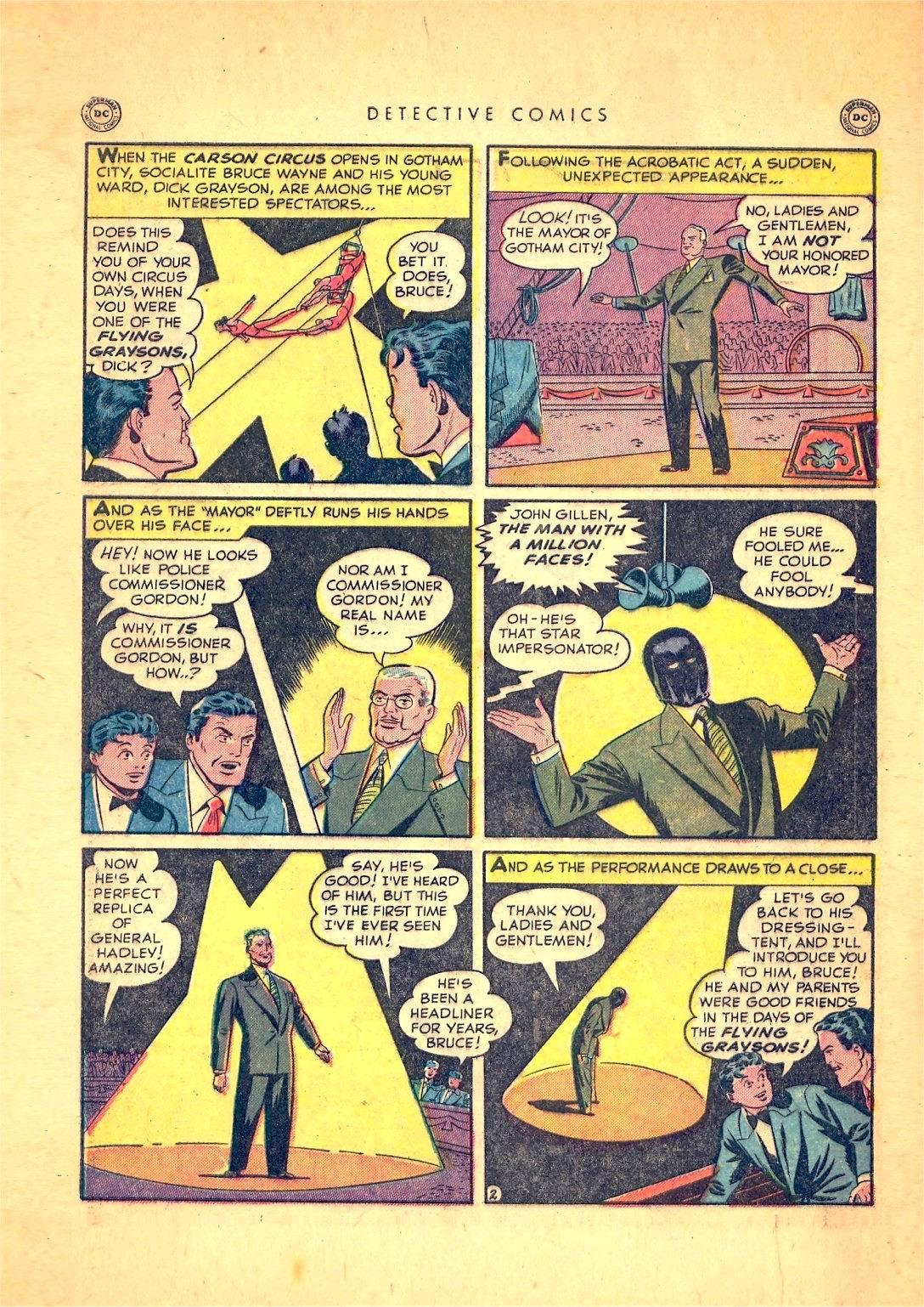Read online Detective Comics (1937) comic -  Issue #166 - 4