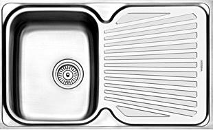 Daftar Harga Wastafel Cuci Piring Modena Stainless Steel Minimalis Anti Karat terbaru