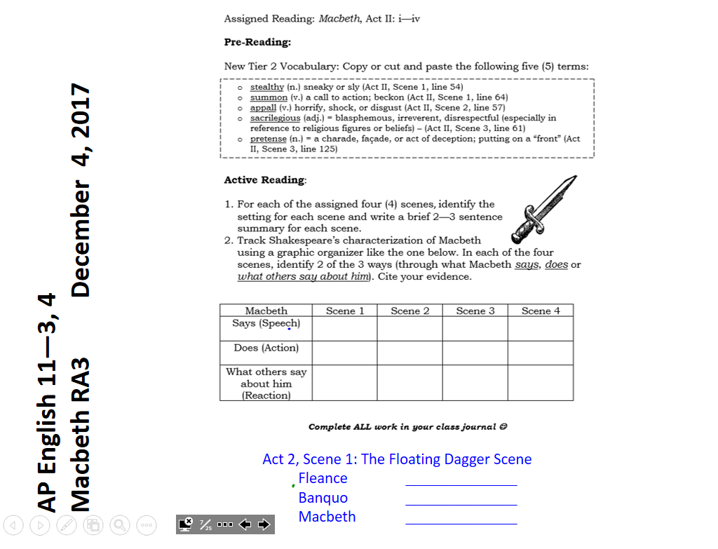 macbeth graphic organizer Graphic organizer for macbeth (shakespeare) - language - subjects eight pages of graphic organizers tailored for macbeth easy to modify for your own liking.