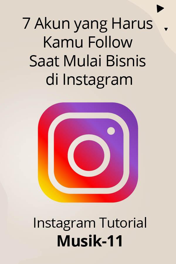 akun instagram yang membahas seputar bisnis online