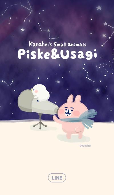 피스케&우사기의 별하늘