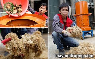 Máy nghiền rác hữu cơ