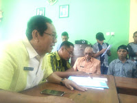 Kasus ADD-DDA, Pagi-Pagi Inspektorat Kabupaten Bima Didemo Warga Laju