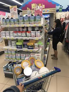 Mua sữa NAN Nga xách tay chính hãng tại Nga tháng 10.2018