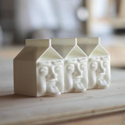 Milkface Resin Figure by Kyle Goodrich