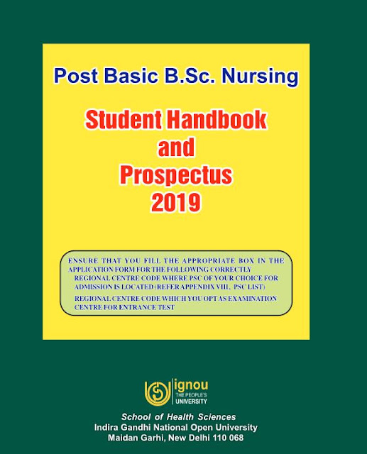 IGNOU BSC Nursing Prospectus