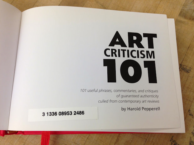 And Desire Art Criticism 101
