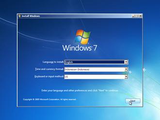 Tutorial Cara Install Windows 7