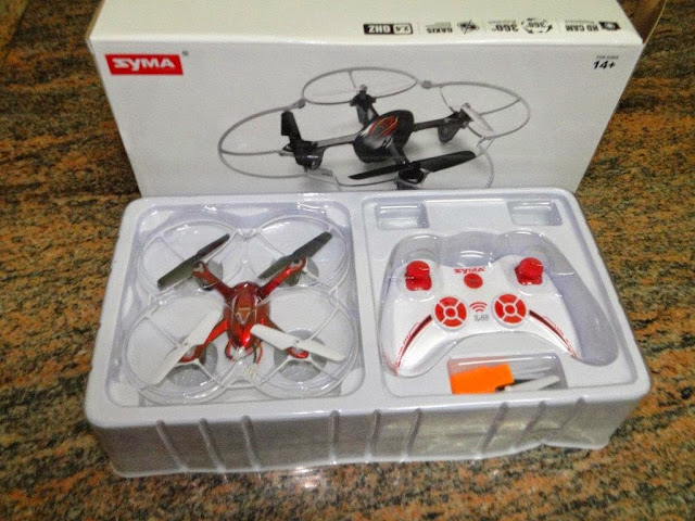 Syma X11C Package Contents