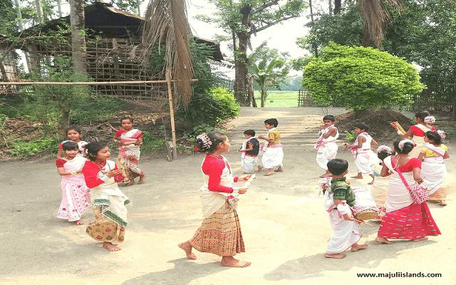 Rongali Bihu Of Majuli Island