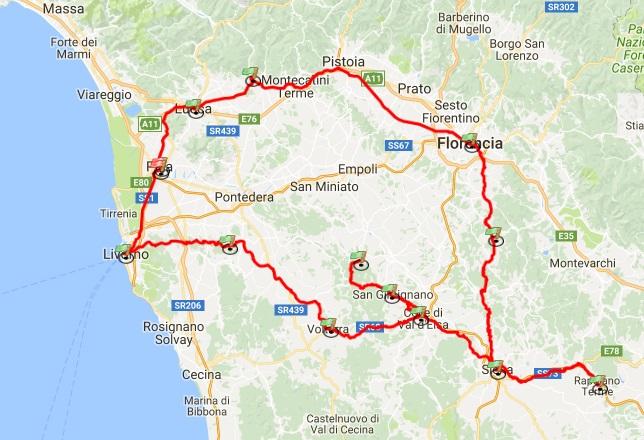 Ruta Por La Toscana En Coche Que Ver Donde Dormir Y Con Quien