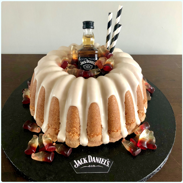 Jack Daniels and Coke Bundt