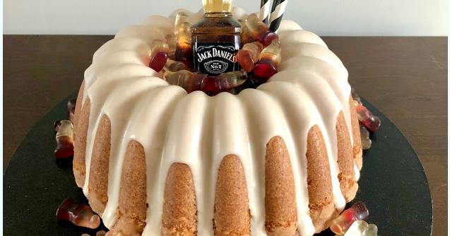 Chocolate Jack Daniels Cake