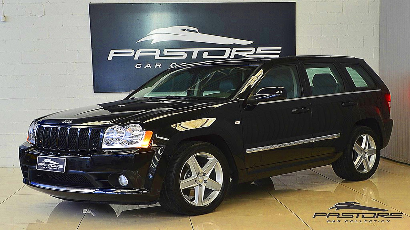 pastore jeep grand cherokee srt8 2006 preto aro 20 at5 4x4. Black Bedroom Furniture Sets. Home Design Ideas