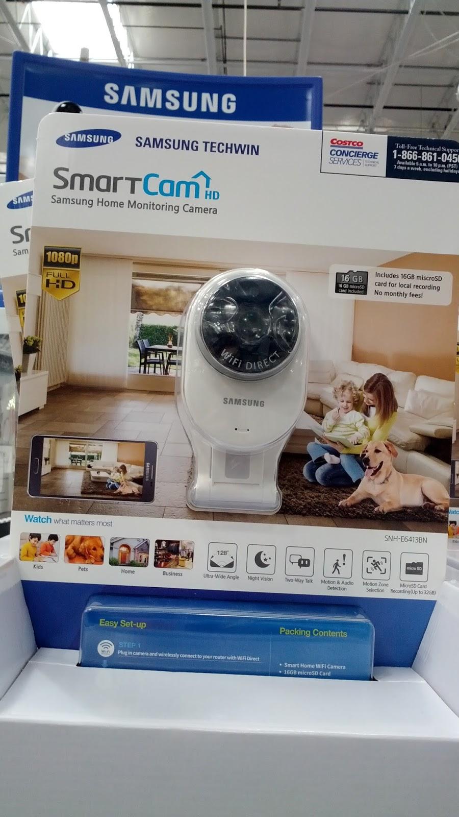 Samsung Smartcam 1080p Hd Home Monitoring Surveillance