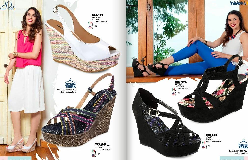 catalogo confort terra calzado primavera verano 2015