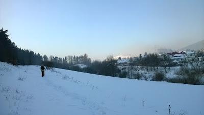 szlak zielony do Ludwikowic Kłodzkich