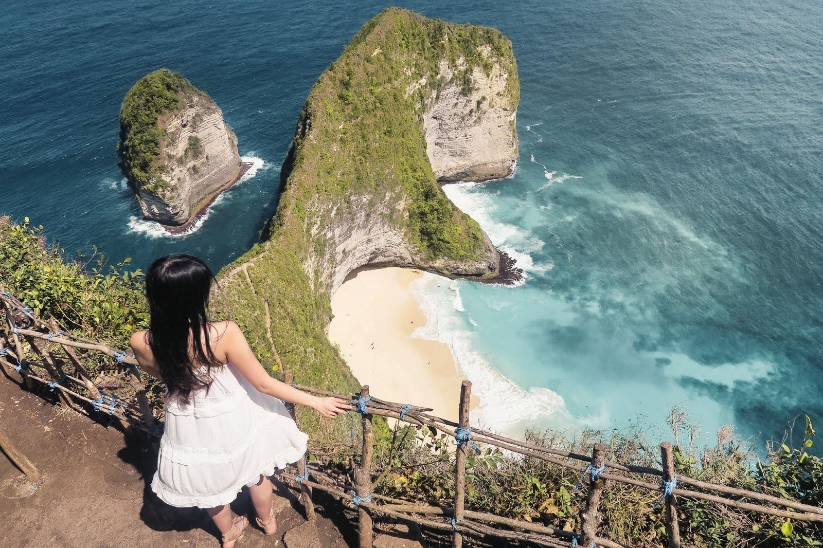 Nusa Penida From Bali Tour Your Way Through This Instagram Worthy Paket Trip Kelingking Beach