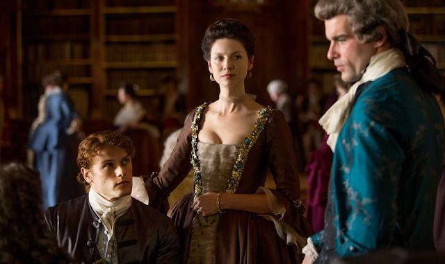 """2x04 """"La Dame Blanche"""" de 'Outlander'"""