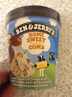 Ben & Jerry's Honey Sweet Honeycomb Review
